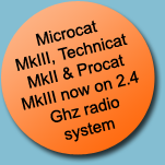 Microcat MkIII, Technicat MkII & Procat MkIII now on 2.4 Ghz radio system